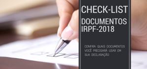 Check-list IRPF 2018