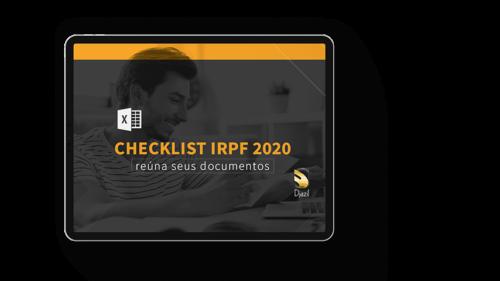 [CHECKLIST] IRPF 2020